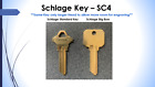 Key Cut To Code - Multiple Key Types - Cut by Locksmith - FREE SHIPPING