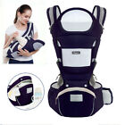 Kyпить Baby Carrier, 6-in-1 Multifunction Baby Carrier Hip Seat for 0-36 Month Baby на еВаy.соm