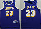 NWT LeBron James #23 Los Angeles Lakers Classic Stitched Basketball Jersey on eBay