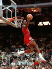 V0294 Michael Jordan Slam Dunk Contest Bulls Retro Decor WALL PRINT POSTER