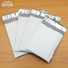 Waterproof White Pearl Film Bubble Envelope Mailing Bags 10/20/50Pcs Pack 600B