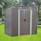 New Metal Garden Shed 3 X 5, 6 X 4, 8 X 4, 8 X 6, 10 X 8 Storage with free base
