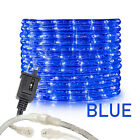 "Assorted Sizes 1/2"" Blue LED Rope Lighting Thick Indoor Outdoor Christmas Xmas"