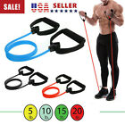 Fitness Exercise Cords Pull Rope Stretch Resistance Bands Elastic Yoga Training image