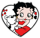 "Betty Boop Cartoon Heart Sticker Bumper Decal  ""SIZES"" $3.75 USD on eBay"