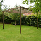 *CLEARANCE* Wooden Box Pergola - 5 Sizes / 2 Colours Available