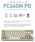 Leopold FC660M PD Mechanical Keyboard Cherry MX Double PBT White twotone Kor&Eng