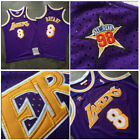 1998 All Star Game #8 Kobe Bryant Stitch Los Angeles Lakers Jersey 98 All-Star on eBay