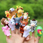 80 Pcs Finger Puppets Cloth Doll Baby Family Educational Hand Cartoon Animal Toy