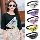 Women Shoulder Bag Waist Bags Fanny Fashion Pvc Sequin Belt Money Packs Handbags
