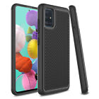 For Samsung Galaxy A51 Phone Case Shockproof TPU Hybrid Rubber Rugged Hard Cover