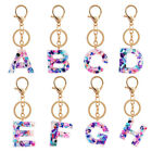 Letter A-Z Keychain English Alphabet Keyring Handbag Pendant Jewelry Accessories