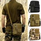 Climbing Casual Pack Crossbody Messenger Key Nylon Shoulder Bag Travel Tactical