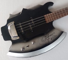 Gene Simmons Cort Style Axe Bass Guitar 4 String Signature KISS Firehawk China's for sale