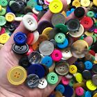 New 100 Buttons Mixed Color Lot Big Large Sizes 11/16 To 1 Inch -bulk  Bcm