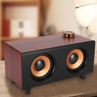 FT-3008 Wooden Portable Wireless Bluetooth Speaker Stereo Retro Subwoofer USB SS