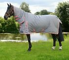 "Hy StormX Original 300g Heavyweight Combi Combo Turnout Rug Grey/Pink 4'6""-7'0"""