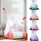 Ceiling-Mounted Mosquito Net Free Installation Home Dome Foldable Bed Canopy image