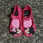 Mini Melissa Minnie and Mickey Kiss Mary Janes Shoes Pink