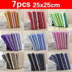Kyпить 7PCS 100% Cotton Fabric Sewing Material Value Bundle Scraps Offcuts Quilting  на еВаy.соm