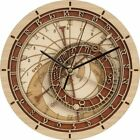 Creative wall clock Prague Astronomical Wooden Clock Living Room Wall Clock Quar