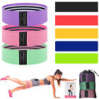 8 Resistance Exercise Bands Loop Set Legs Pull Up Yoga Home Gym Fitness Workout image