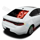 Skulls designs  Rear Window See Thru Stickers Perforated for Dodge Dart 2020 $58.5 USD on eBay