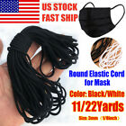 Kyпить 3mm Round Elastic Band Cord Ear Hanging Sewing Crafts DIY 10 Yards Length US на еВаy.соm