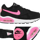 Nike Air Max Womens Ladies Black Pink UK Size 5 Running Gym Trainers