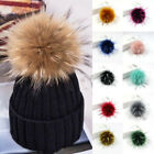 1pc Faux Fur Pompom Ball For Knitting Beanie Hats Accessories Diy Craft