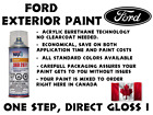 FORD DO IT YOURSELF, EASY 1K CAR PAINT SPRAYCAN FOR TOUCH UP, MOST COLORS <br/> 1K ACRYLIC TECHNOLOGY NO CLEARCOAT, SAVE ON TIME AND $