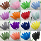 Wholesale Beautiful natural goose feather 15-20cm / 6-8inches 20/50/100pcs