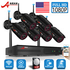 ANRAN 1080P Home Security Camera System Wireless 8CH Outdoor WiFi 2TB Waterproof