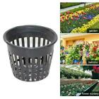 10pcs Heavy Duty Mesh Pot Net Cup Basket Hydroponic Aeroponic Clone Grow C8m0