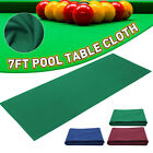AU Single-sided Snooker Billiards Table Bed&Cushions Cloth For 7ft Pool Table $31.99 AUD on eBay