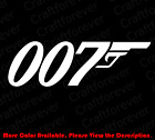 JAMES BOND 007 Spy Car Window/laptop/Phone Vinyl Die Cut Decal Sticker JB001 $2.25 USD on eBay