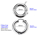 Adjustable Ball Stretcher Weight Chastity Ring Testicle Ball Ring US Shipping