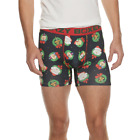 2 Pair Crazy Boxer Briefs, Mens Size L, Christmas Holiday Dogs, Underwear B16 A