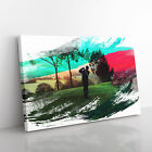 Golf Landscape V2 Framed Canvas Print Wall Art Picture Home Décor