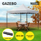 Mountview Gazebo Marquee Gazebos 3x3 Tent Outdoor Camping Canopy Wedding Folding