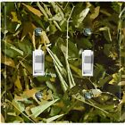 Metal Light Switch Cover Wall Plate Foliage Camouflage Patten Crosshatch CAM006