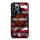 HARLEY DAVIDSON USA FLAG For iPhone 6/6S 7 8 X/XS Max XR 11 Pro Phone Case $22.9 CAD on eBay