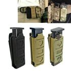 US Molle Single Magazine Pouch Waist Belt Multi-tool Pouch Flashlight Holster