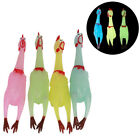 1Pc Screaming Chicken Sound Funny Decompression Toy Rubber Luminous ij
