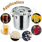 18/30L 3Pot Home Alcohol Distiller Brewing Kit Moonshine Still Stainless In USA