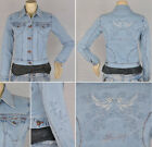 """Pricxy"" Women jeans jacket long sleeve stretchy denim designer detail PJ-2009"
