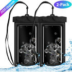 2Pack Floating Waterproof Case Swimming Diving Dry Bag Pouch For iPhone Samsung