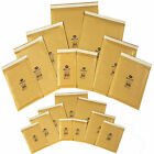 Padded Envelopes Gold Mail Lined Large Letter Bubble Wrap Bags 000 00 0 E2 F3 D1