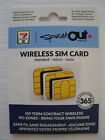 7-11 Speakout Dual SIM Card or 3-in-1 Sim Card  **Brand New**