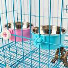 Stainless Steel Pet Feeding Fixed Bowl Food Water Feeder-Dog Cat Rabbit GS1